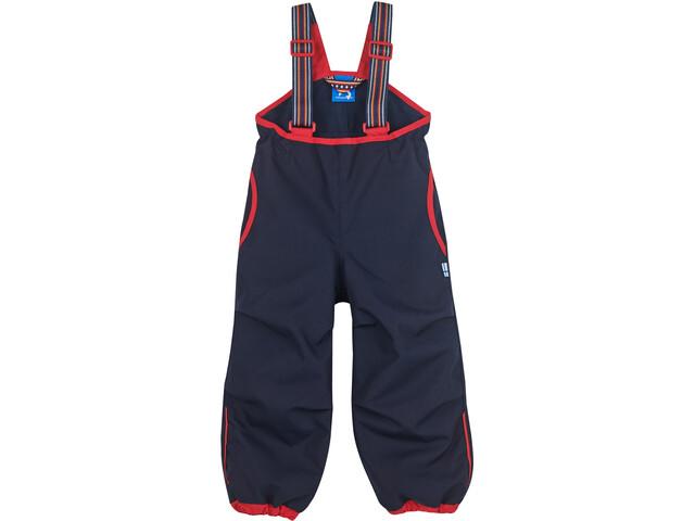 Finkid Vankka Husky Pantalones Resistentes Intemperie Niños, navy/red